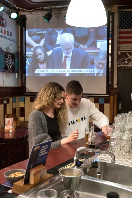 Brexit en Blackburn Rovers in de Pegasus Pub in Arnhem