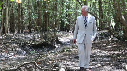 IN BEELD. Prins Charles en Camilla duiken Caraïbische natuur in