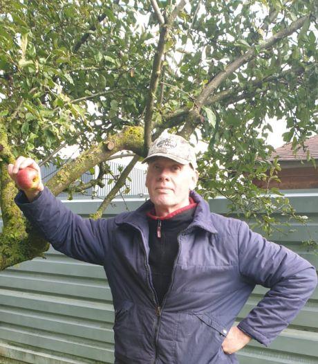 Buren van vaten met blusschuim hebben appels met gif aan boom: 'In 2018 nog van gegeten'