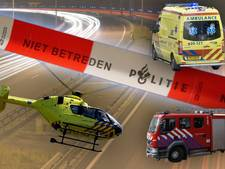 Zwaargewonde bij ongeval, supermarkt overvallen en busje volledig uitgebrand