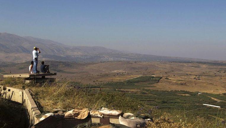De Golanhoogte Beeld reuters
