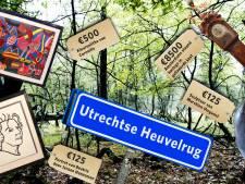Utrechtse Heuvelrug houdt uitverkoop om gat in begroting te dichten: 120 kunstitems geveild
