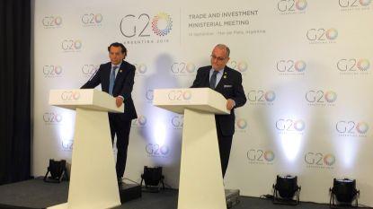 G20 roept op tot WTO-hervorming om handelsspanningen aan te pakken