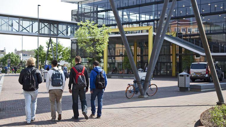 © ANP. Exterieur Christelijke Hogeschool Windesheim in Zwolle Beeld