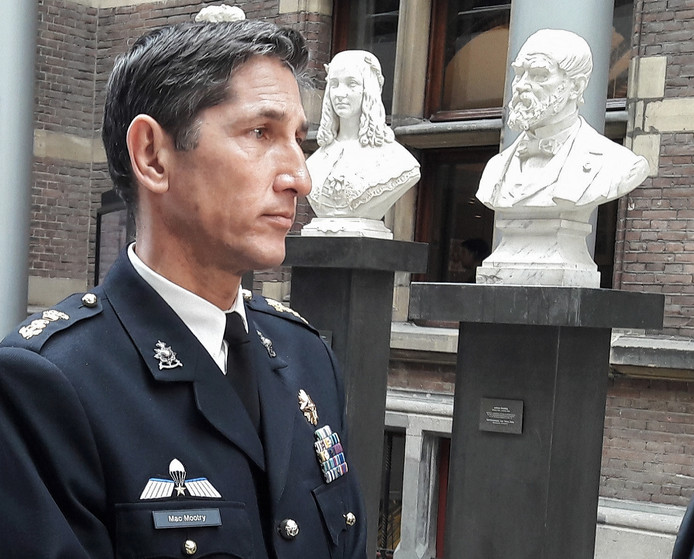 Generaal Jeff Mac Mootry sprak in mei zijn zorgen uit over de verhuizing tegenover leden van de Tweede Kamer.
