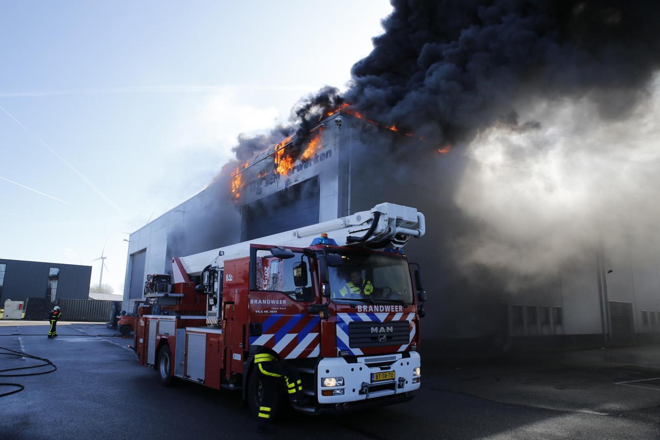 Brand Oosterhout
