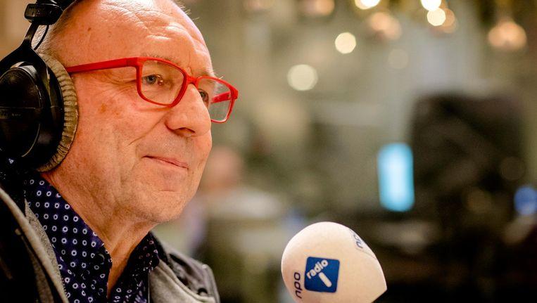 Tom Blom presenteerde jarenlang het NOS-radioprogramma Langs de Lijn Beeld anp