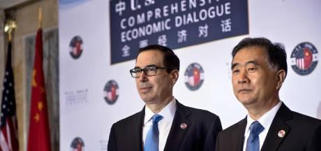 'Handelsoorlog tussen VS en China voorlopig stilgelegd'