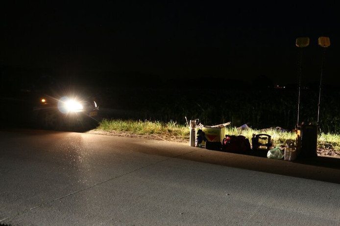 Ongeval in Baarle-Nassau. Foto Mathijs Bertens, Stuve fotografie