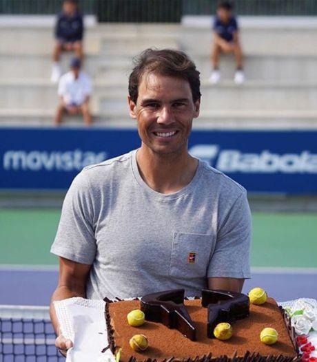 Rafael Nadal a fêté ses 34 ans dans son Académie