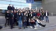 Leerlingen Maris Stella trekken naar Europees Parlement