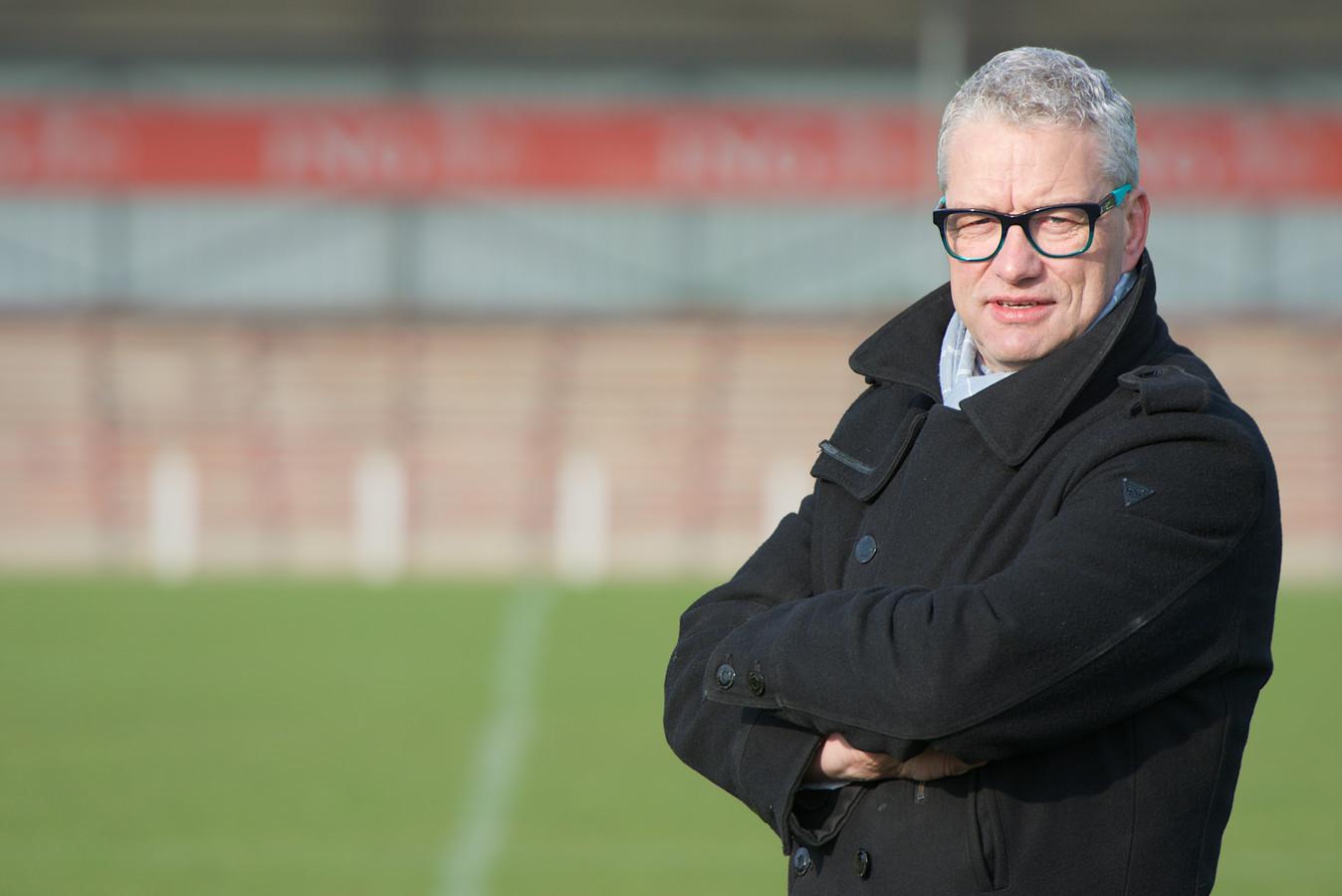 DVV-trainer Ron Olyslager.