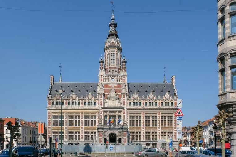Het gemeentehuis van Schaarbeek