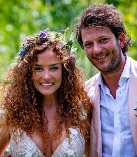 Katja blikt terug op bruiloft: Het was magisch en vol liefde