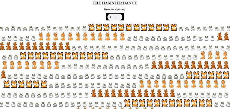 Hamster Dance. Beeld XS4ALL