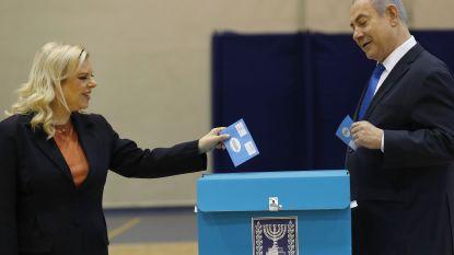 Exitpolls: Likoedpartij van Netanyahu wordt de grootste, maar behaalt net geen meerderheid