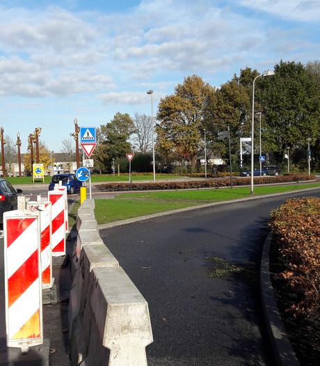 Bypass bij rotonde Parklaan Etten-Leur weer open