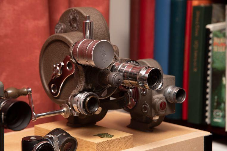 Filmcamera's waren echte pareltjes en tot in detail afgewerkt.