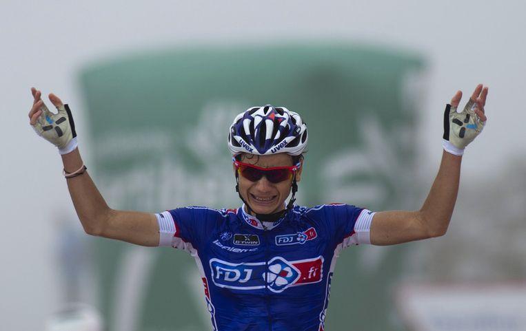 Elissonde won in 2013 nog een rit in de Vuelta met aankomst op de Angliru.