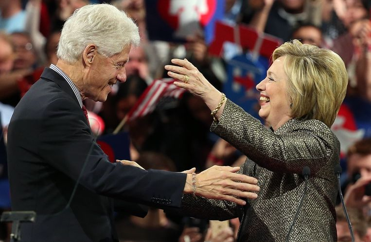 Bill en Hillary Clinton.