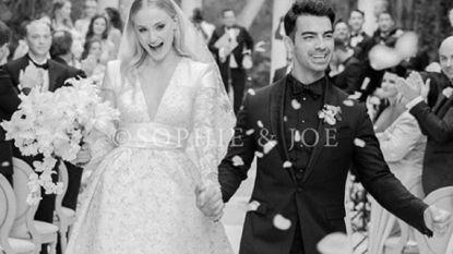 Daarom duurde het 1400 uur om de trouwjurk van Sophie Turner te maken