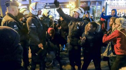 In totaal al 36 relschoppers opgepakt na de verschillende rellen in Brussel, één persoon twee keer opgepakt