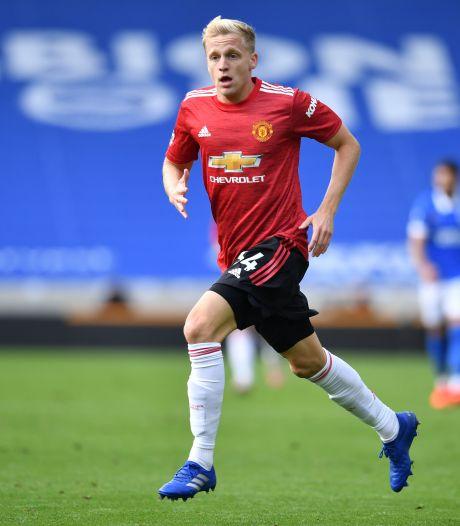 Met elke speelminuut groeit de status van Donny van de Beek bij Manchester United