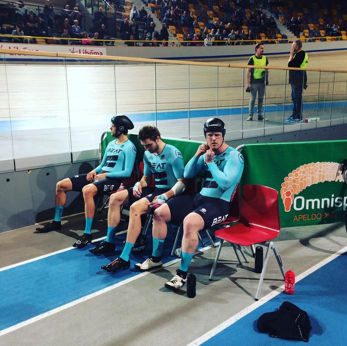 Beat Cycling Club met Theo Bos, Roy van den Berg en Matthijs Büchli.