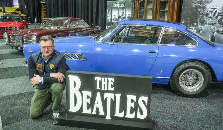 """Vooral de blauwe ferrari van Lennon is Wims favoriet. """"Zo'n klassieke wagen in fel blauw uit de jaren '60, dat zie je écht  niet veel."""""""