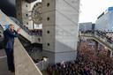 Hakim Ziyech rooftop party na de wedstrijd ajax utercht
