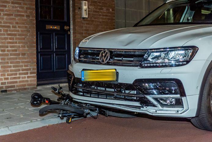 Ongeluk met automobilist en fietser op Ringbaan Noord Tilburg