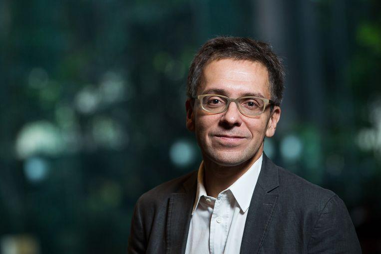 Ian Bremmer, president van de Eurasia Group. Beeld Bloomberg via Getty Images