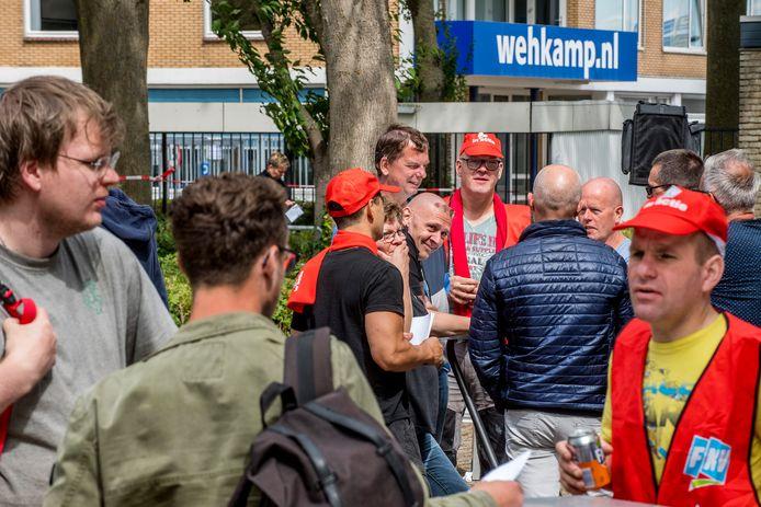 Eerste staking in de historie van Wehkamp.