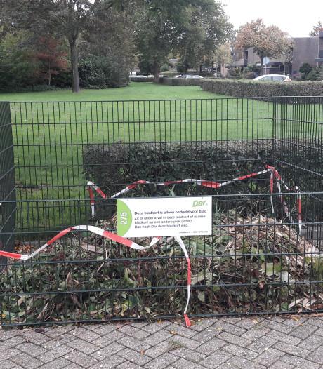 Oproep tegen misbruik bladerbakken in Steenwijkerland