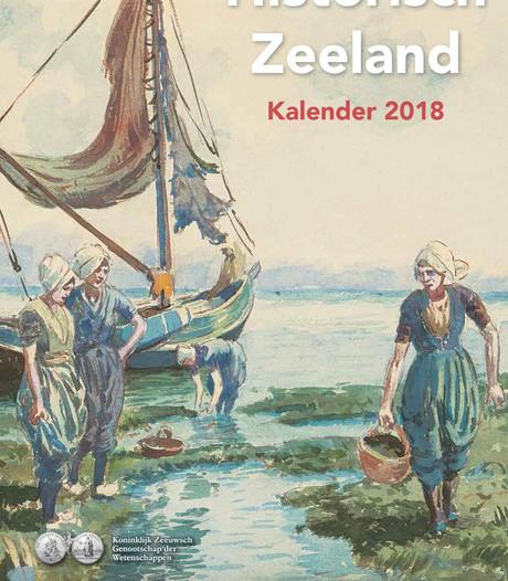 Oude Zeeuwse prenten kleuren het jaar 2018
