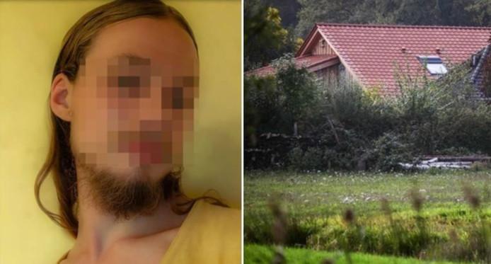 """""""Jan"""", l'un des cinq enfants fantôme retenus à Ruinerwold, aux Pays-Bas. Selon les premières informations, le père et ses cinq enfants âgés de 18 à 25 ans ont vécu dans une """"petite pièce fermée"""". Tous ses membres ont été examinés par un médecin et emmenés dans un endroit sûr."""