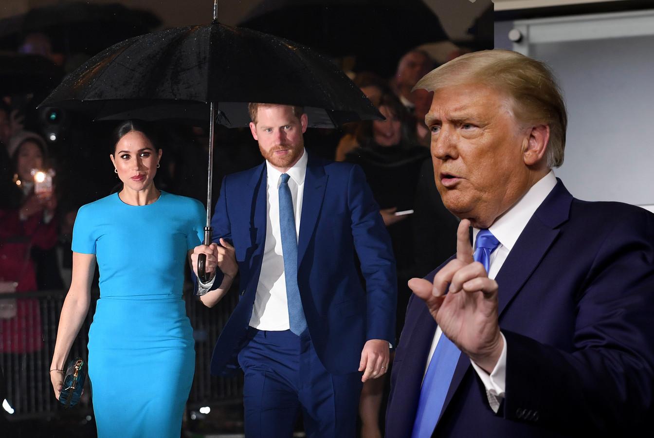 Donald Trump heeft uitgehaald naar Meghan Markle