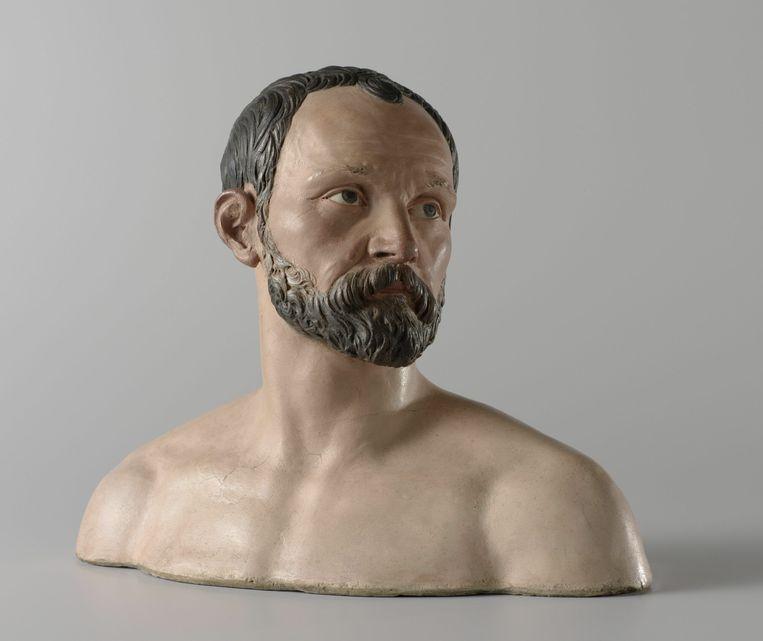 Johan Gregor van der Schardt, zelfportret, 1573, Rijksmuseum Amsterdam.   Beeld