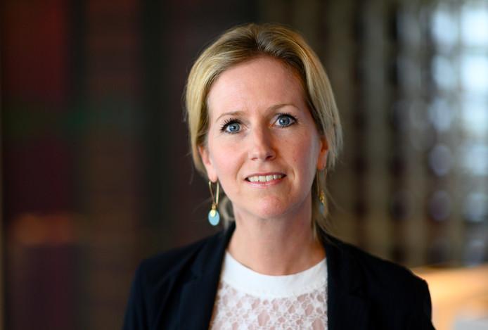 Hellen van der Plas, topvrouw van Signify Benelux.