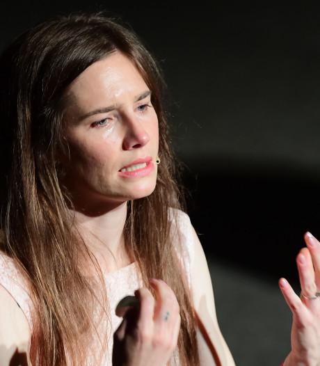 Amanda Knox huilend: 'Een dief heeft Meredith vermoord, ik niet'