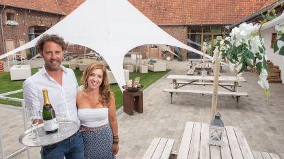 Eventcentrum Pladutse 3 in Melden wordt twee maanden een gezellige zomerbar
