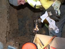 Vonken uit riool bij stroomstoring in Heesselt