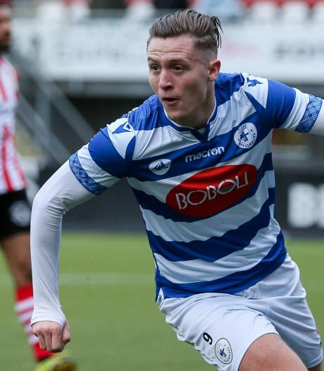 Voetballer Versteeg: weer twee doelpunten tegen Jong Sparta