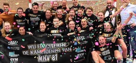 Handbalsters MHV'81 grijpen titel in sfeervol De Looierij