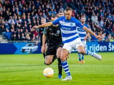 Voormalig Helmond Sport-spits Jordy Thomassen stevent af op eerste basisplaats in de eredivisie