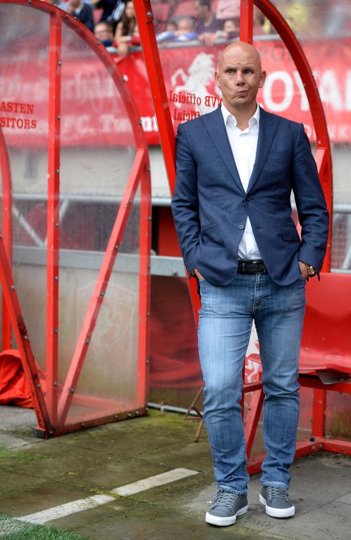 Jan van Halst bij de Open Dag van FC Twente.