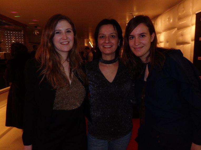 Team Cinecenter: directeur Romée Swaab, programmeur Michèle Creemers en Renske Diks van marketing Beeld Schuim