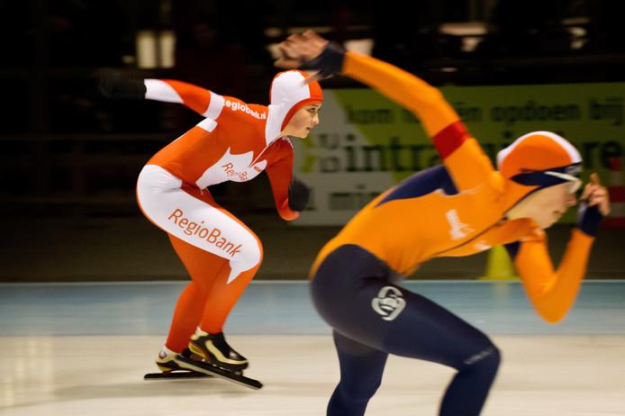 Sprintwedstrijden om het Gewestelijk Kampioenschap op de Kunstijsbaan Breda.