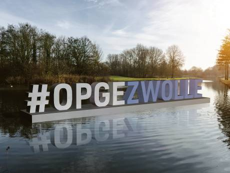 Wisselende reacties op plan voor #Opgezwolle-letters: 'Klinkt als ziek of obesitas'