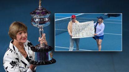 Protest McEnroe en Navratilova tegen omstreden Court, microfoon afgesloten wanneer duo publiek wil toespreken